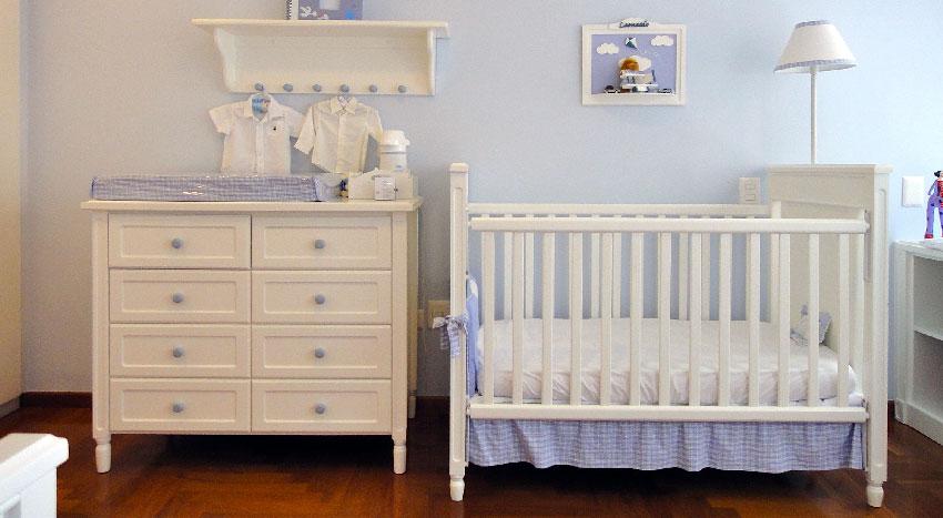 Organizar a casa para a chegado do bebé
